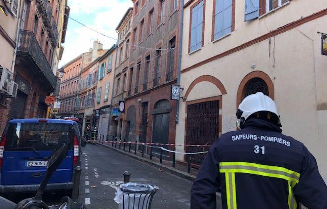 Toulouse: Un arrêté de péril imminent pris après l'effondrement d'un immeuble du centre-ville