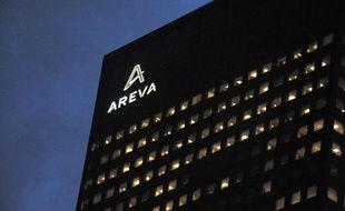 Le siège d'Areva à la Défense, à Courbevoie, le 26 février 2014