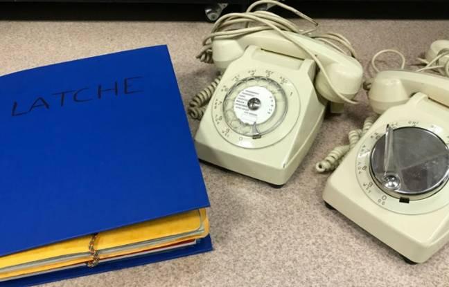 Frainchement découverts, des téléphones ayant sans doute appartenu à François Mitterand.