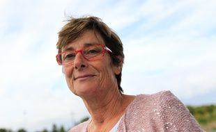 NANTES, le 16/09/2013 Monique BERNARD, presidente du club de volley feminin de Nantes