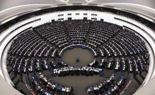 Le Parlement européen lors d'une session en mars 2013 à Strasbourg