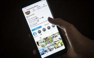 Un compte Instagram (image d'illustration).