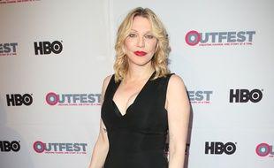 L'actrice et chanteuse Courtney Love à l'Outfest Los Angeles LGBT Film Festival