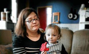 Sonia Roudeix vit depuis trois ans dans un logement insalubre.