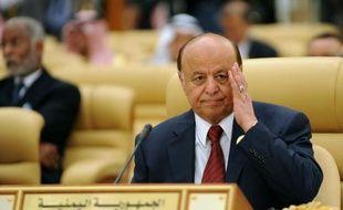 Le président yéménite Abd Rabbo Mansour Hadi, le 21 janvier 2013 à Riyad