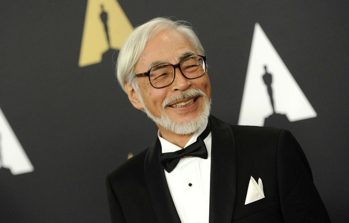 Hayao Miyazaki à Los Angeles, le 8 novembre 2014. – Chris Pizzello/AP/SIPA
