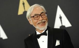 Hayao Miyazaki à Los Angeles, le 8 novembre 2014.