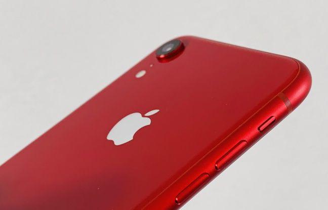 L'iPhone Xr d'Apple dans sa version RED.
