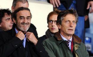 Nicolas de Tavernost (à droite) et le président des Girondins Jean-Louis Triaud sont des amis de longue date.