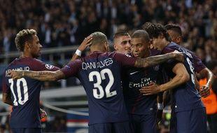Les Parisiens ont largement battu le Bayern Munich en LIgue des champions, le 27 septembre 2017 au Parc des Princes.