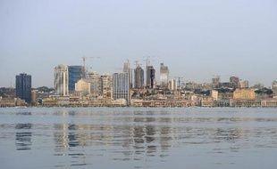 Vue partielle de la capitale de l'Angola, Luanda le 30 août 2012