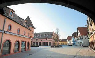 Le centre, qui ouvrira le 25avril prochain, abritera 107boutiques et restos d'ici à la fin 2013.