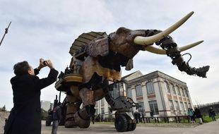 Le grand éléphant des Machines de l'île de Nantes