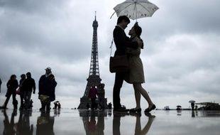 La pluie et le froid règnent à Paris, et en France, en ce printemps 2013.