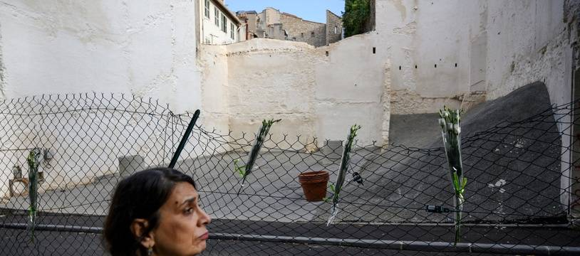 Les immeubles de la rue d'Aubagne ont laissé place à une dent creuse