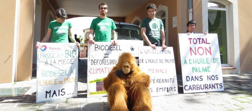 Des associations protestent contre la raffinerie de biocarburants à La Mède