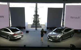 La Renault Talisman, présentée par le groupe, le 6 juillet 2015.