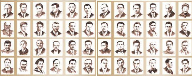 Les portraits des 48 otages