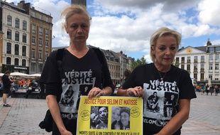 Les mères de Selom et Matisse veulent connaître la vérité sur la mort de leurs fils