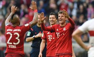 Les joueurs du Bayern Munich le 7 novembre 2015.