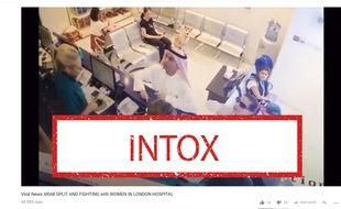 Cette agression n'a pas eu lieu à Londres mais dans une clinique vétérinaire au Koweït.