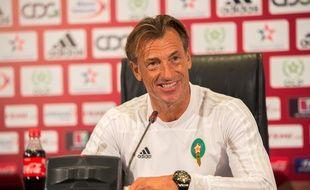 Hervé Renard était sélectionneur du Maroc depuis 2016.