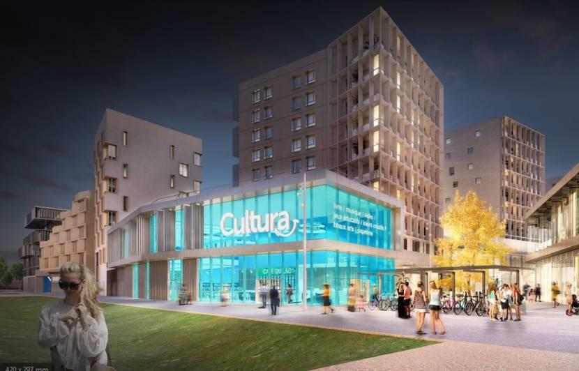 Bordeaux : L'enseigne Cultura recrute une trentaine de personnes pour son nouveau magasin