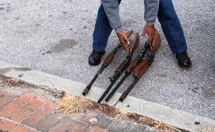 A Baltimore, la police rachète les armes pour endiguer la violence