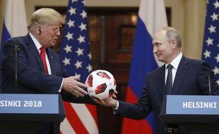 Donald Trump a rencontré Vladimir Poutine à Helsinki, le 16 juillet 2018.