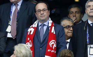 François Hollande au Stade de France, le 3 juillet 2016