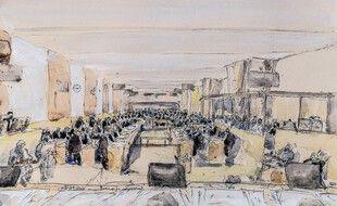Guillaume, mis en joue par l'un des trois terroristes au Bataclan a témoigné ce mardi 12 octobre au procès des attentats du 13-Novembre.