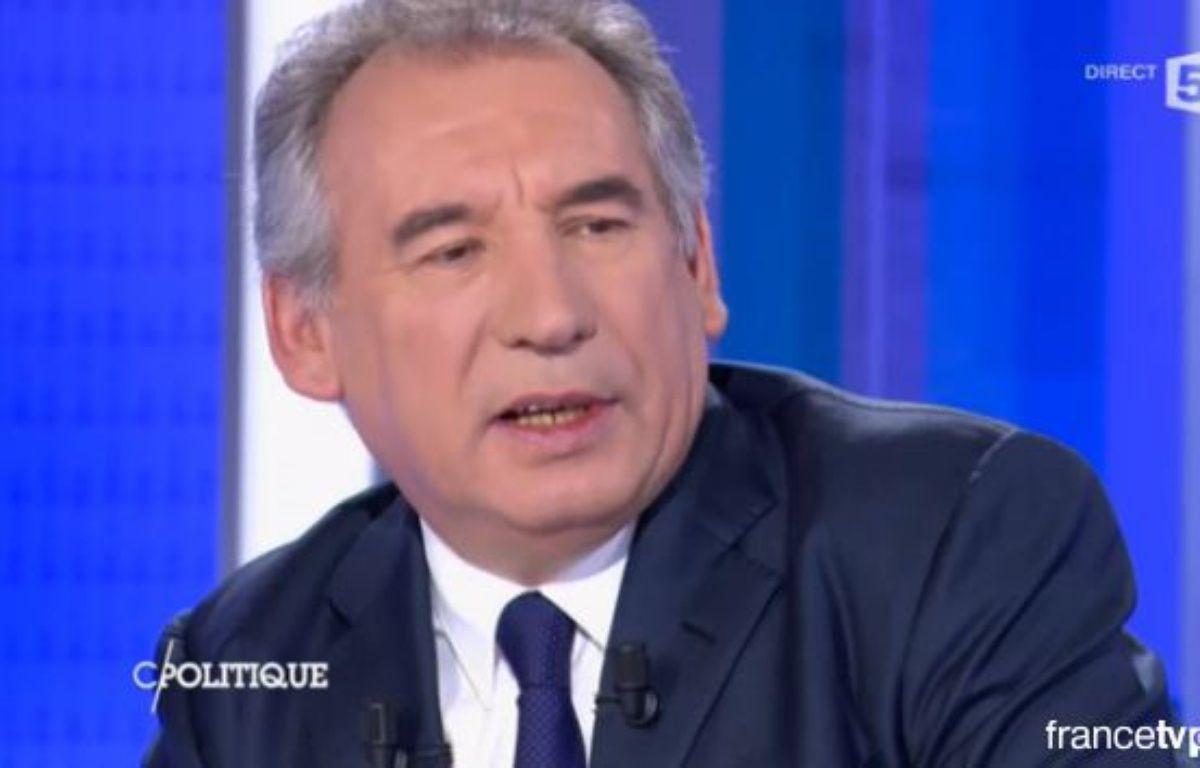François Bayrou sur France 5 le 14 février 2016. – France 5