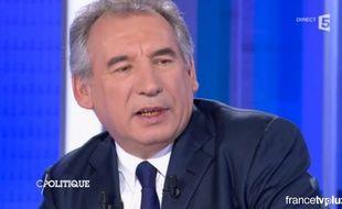 François Bayrou sur France 5 le 14 février 2016.
