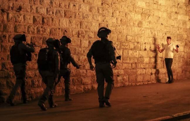 648x415 police israelienne jerusalem 23 avril 2021