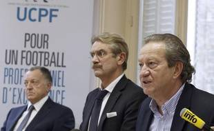 Les représentants de l'UCPF, lors d'une assemblée générale, le 14 novembre 2013 à Paris.