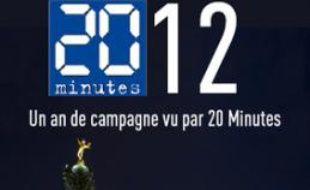 2012, la campagne présidentielle vue par 20 Minutes