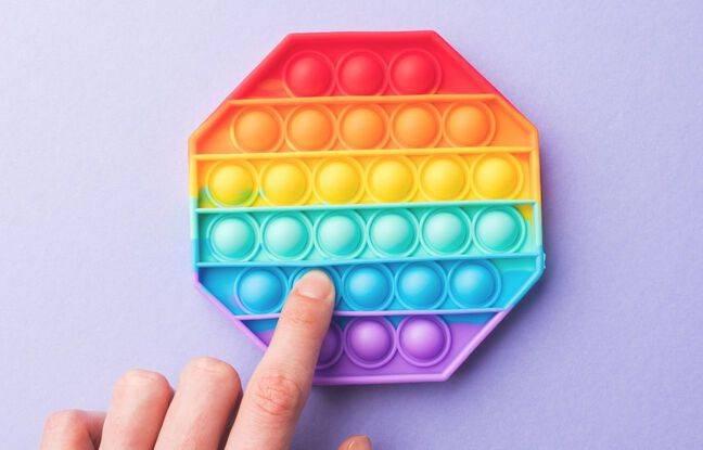 Le Pop it, sorte de papier bulle perpétuel, un jeu pour enfant déstressant et addictif