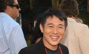 L'acteur Jet Li à Los Angeles.