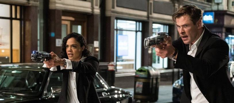Tessa Thompson et Chris Hemsworth forment le nouveau duo (mixte) de Men In Black