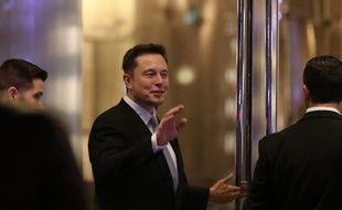 L'homme d'affaires Elon Musk
