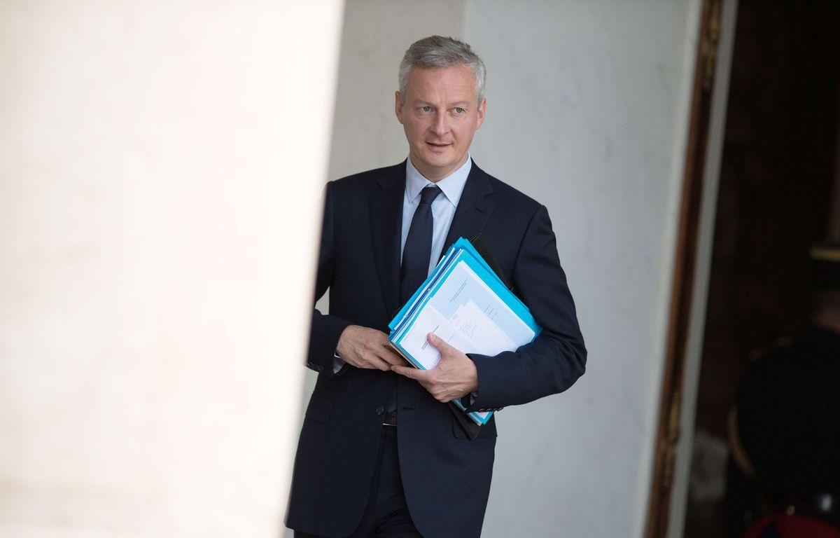 Bruno Le Maire à l'Elysée le 28 juin 2017. –  PDN/SIPA