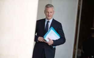 Bruno Le Maire à l'Elysée le 28 juin 2017.