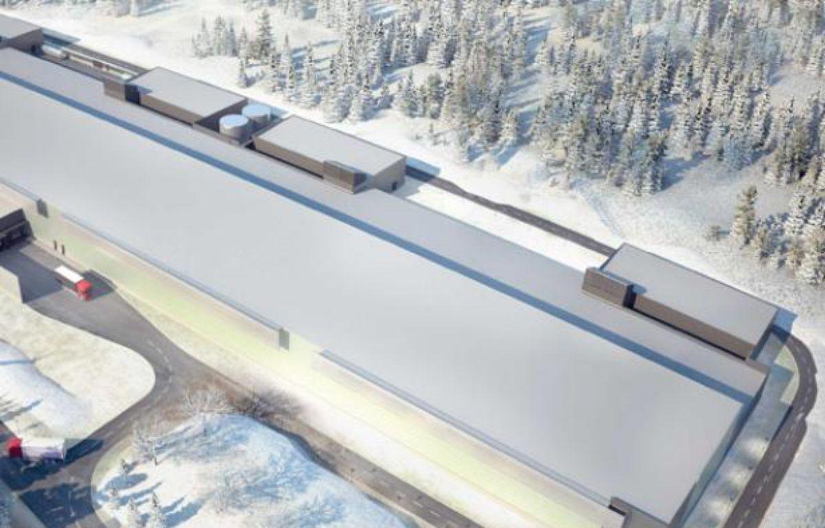 Le datacenter de Facebook à Lulea en Suède sera construit sur ce modèle. – LINDHOLM/SCANPIX SUEDE/SIPA