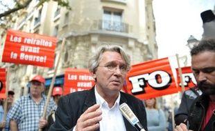 """Les syndicats n'ont """"pas utilisé tout ce qui était possible"""" pour tenter de faire échec à la réforme des retraites, a déclaré mardi le secrétaire général de Force Ouvrière Jean-Claude Mailly."""