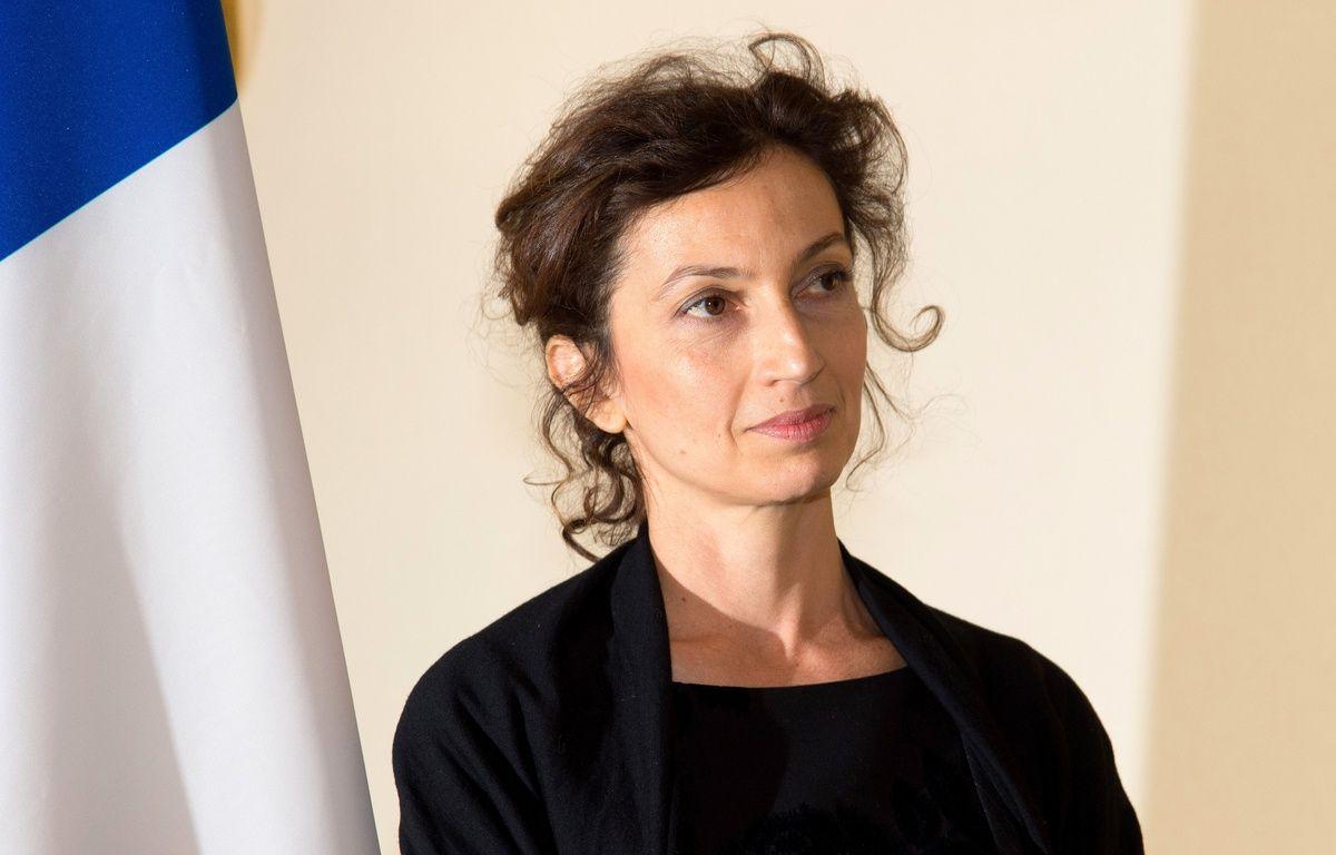 Audrey Azoulay, ministre de la Culture, le 12 février 2016 à Paris. – VILLARD/SIPA