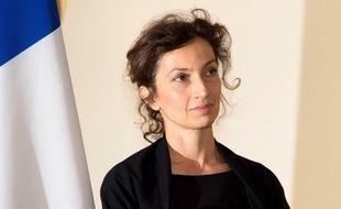 Audrey Azoulay, ministre de la Culture, le 12 février 2016 à Paris.