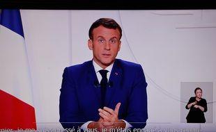 Coronavirus: allocution d'Emmanuel Macron