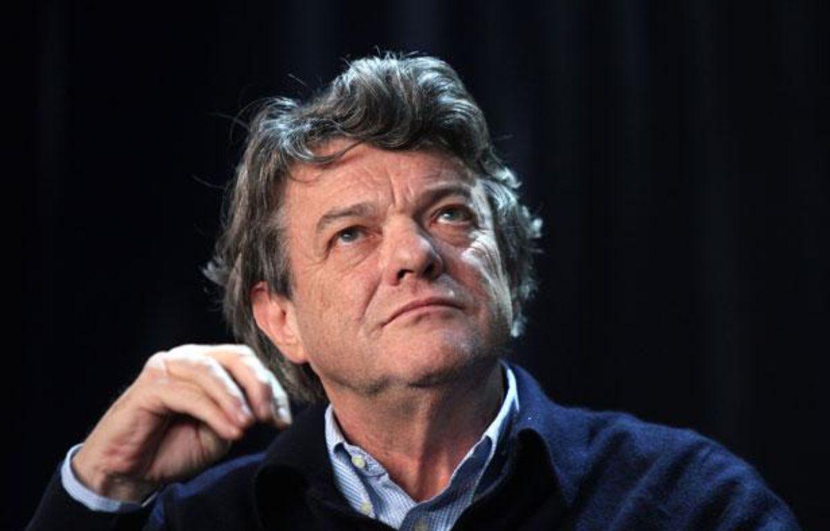 Jean-Louis Borloo le 28 janvier 2012 au Congrès de France Nature Environnement, à Montreuil (Seine-Saint-Denis). – CHESNOT/SIPA