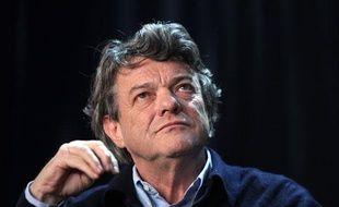 Jean-Louis Borloo le 28 janvier 2012 au Congrès de France Nature Environnement, à Montreuil (Seine-Saint-Denis).