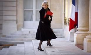 """Nicolas Sarkozy """"a envie d'être président le plus tard possible"""", a déclaré lundi sur RTL la ministre de l'Apprentissage, Nadine Morano, à laquelle on demandait pourquoi le président n'avait pas annoncé ouvertement, dimanche soir, sa candidature à la présidentielle"""